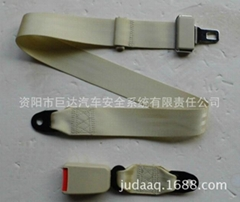 E9 Bus lifeboat 2 points customized Biege Safety Seat belt factory wholesale