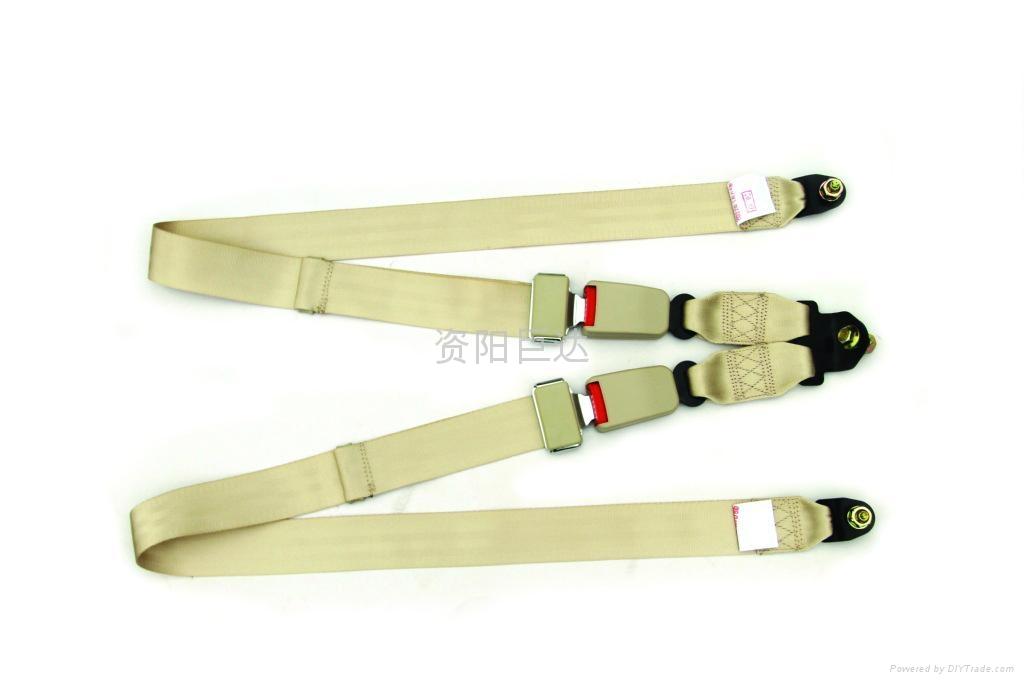 double seat belt buckle safet belt 1