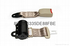 ELR 2 points automatic locking car safety belts