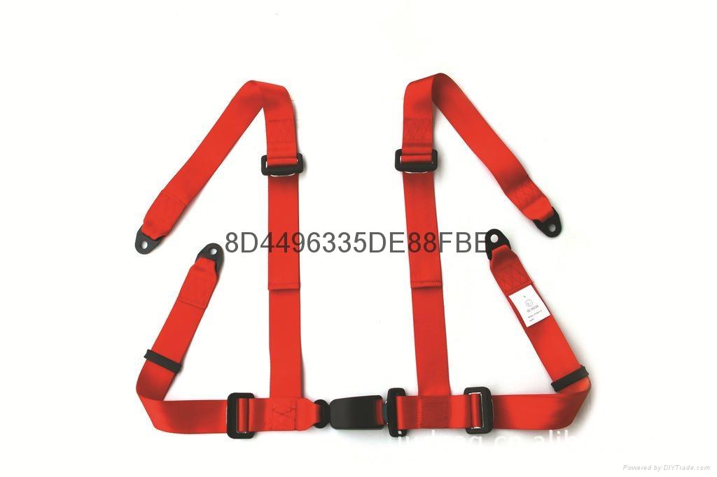 RED Karting seat belt&safety belt 1
