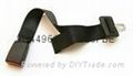 portable bus airplane seat belt extender