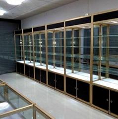 钛合金展示柜