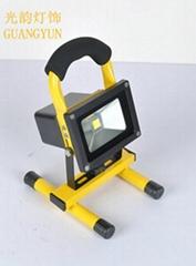 LED充电投光灯 10w 20w 30w 50w