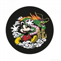 Micky Mouse Embroidery patches used for handbag cloth