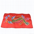 Wholesale  Embroidery Patches Fabric Pheonix Sew On Sticker