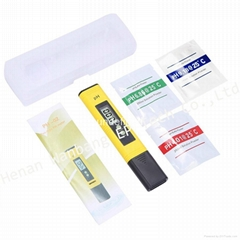 High Accuracy Home use Multi Functional Portable PH Meter