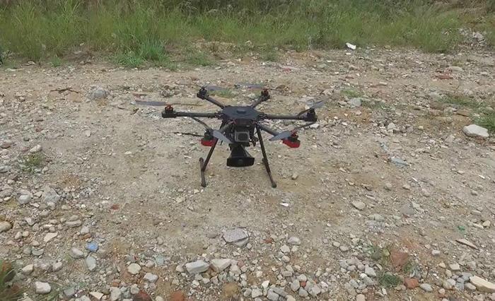Aerial Megaphone for Drones Laudspeaker of RC Unmanned Air Plane 4