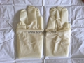 #1018 Pre-Powdered Straight Finger Steriled Latex Surgical Gloves 3