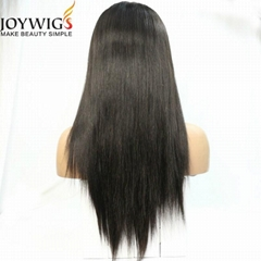 High density 180% with high ponytail human hair 360 wig