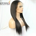 High density 180% with high ponytail human hair 360 wig 4