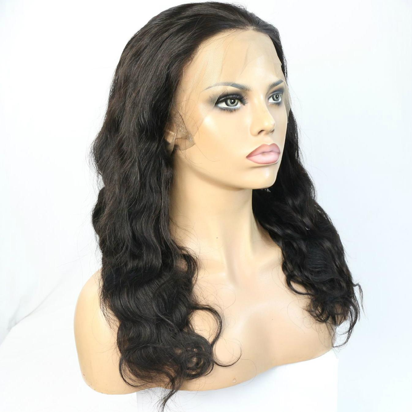 human hair wig 360 lace wig 360 frontal wig 3