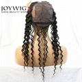 Instock 360 Frontal Wig Cap Deep Curly