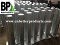 Surface mounted steel bollards