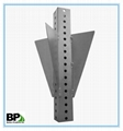 ASTM standard perforated steel square
