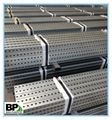 Galvanized and Perforated Square Tube