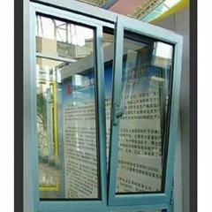 诗美居125系列管式固定框平开窗