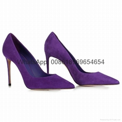 italian leather high heels stilettos sexy women shoes big US size pumps