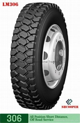 LONG MARCH brand tyre 7.50R16LT-306