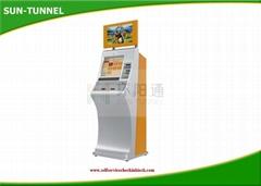 Telecom Bank Card Dispenser Kiosk With Thermal Printer