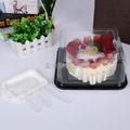 6寸方形 PET透明蛋糕盒 3