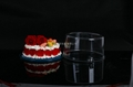 10寸透明圆形PET蛋糕盒