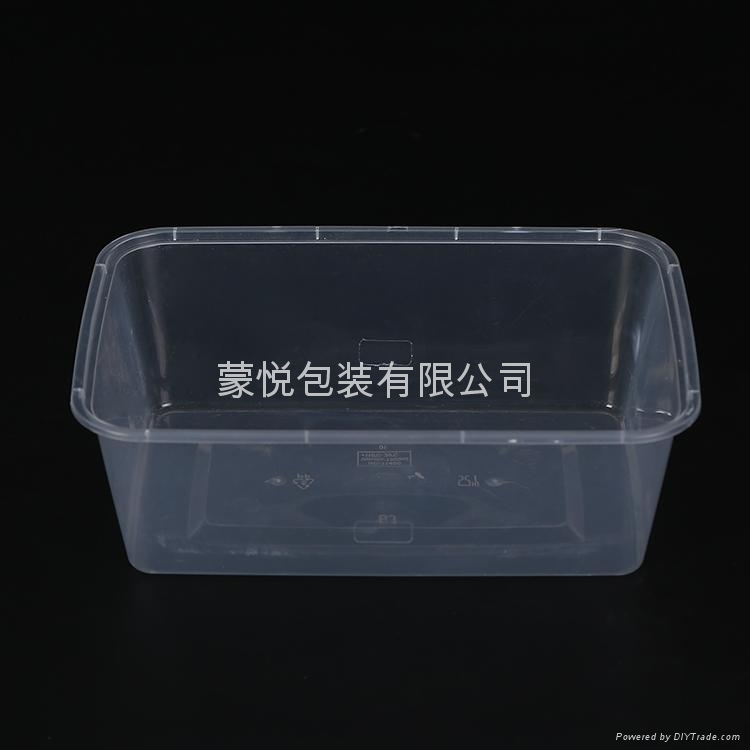 透明塑料环保打包盒 1