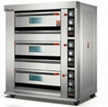 Electric Deck Oven 1 Deck 2 Trays FMX-O120A 3