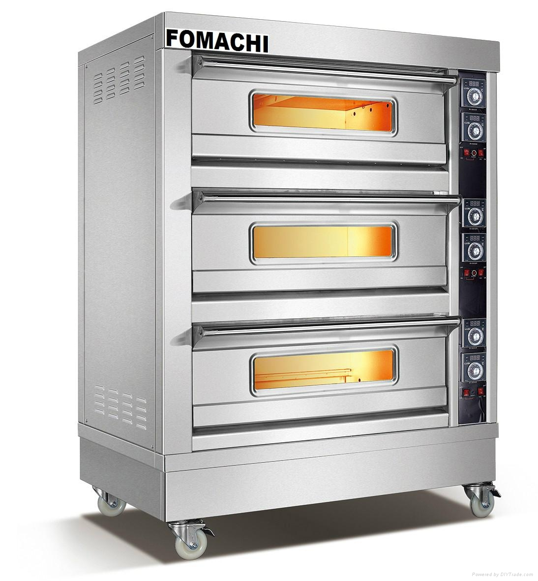 Electric Deck Oven 3 Deck 6 Trays FMX-O38C 1
