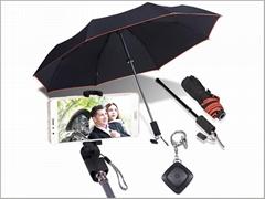 Umbrella bluetooth selfie stick