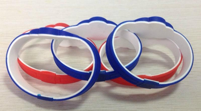 RFID Double color Silicone Wristband 1