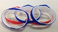 RFID Double color Silicone Wristband