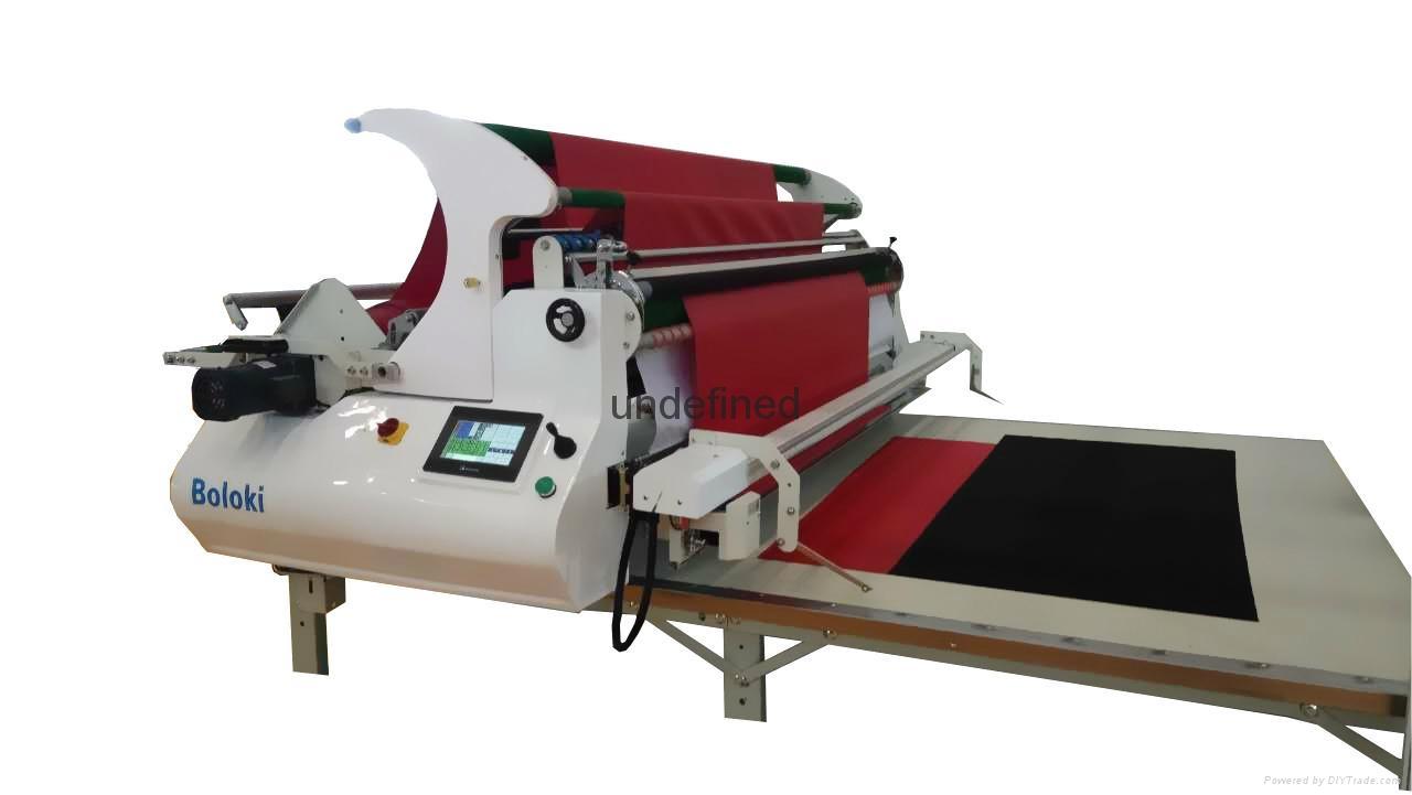 布路奇全自動針織梭拉布機鋪布機 5