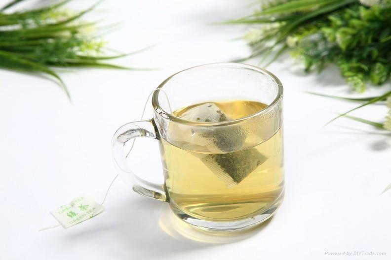 Chinese maker Premium XiHuLongJing Green Tea bag(100 Tea bags/box) 4