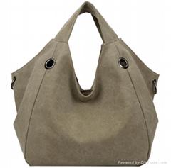 High Quality Fashion Canvas Bag Brand Women Handbags