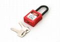 G11 38cm Nylon 6mm safety master lock stainless steel padlock