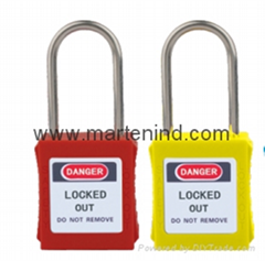 G02 38cm 4mm Steel Padlocks , safety lockout padlocks