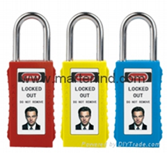 G81 38cm 6mm Steel Padlocks Long Body