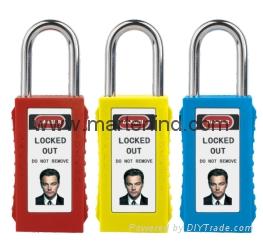 G82 76cm 6mm safety master key aluminium padlock