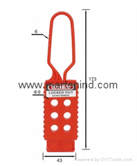 K42 Nylon  safety HASP Lockout