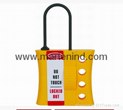 K45 Nylon box metal hasp , plastic box with hasp lock