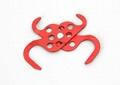 K62 red safety Aluminum locker Lockout HASP 2