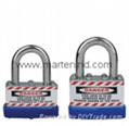 J41 J42 J43 Safety JACKET laminated combination padlock