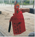 D71 safety bag  Lockout
