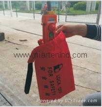 D71 safety bag  Lockout