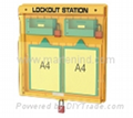 B201 Safety Lock Station for locks