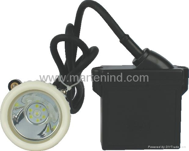 4500lux kl5lm(a) lithium battery led miner cap lamp 1