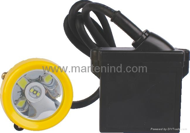 KL5LM (C) 10000lux 3W 6.6Ah led safety miners cap lamp For sale 1