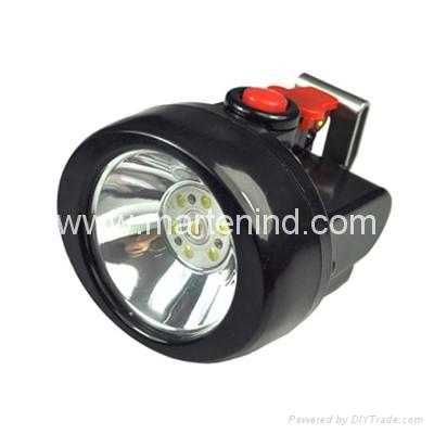 4500lux led cordless Mining Cap lamp Kl2.5LM  1