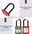 G01 38cm 6mm lockout safety padlock