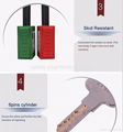 G22 76cm Long shackle Nylon safety lockout Padlock